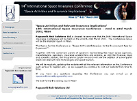 14th International Space Insurance Conference